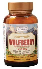 Image 0 of Wolfberry Capsules 1x60 Cap Each by ONLY NATURAL