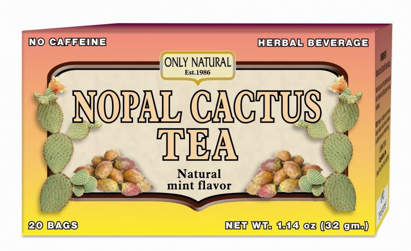 Image 0 of Tea Nopal Cactus 1x20 Bag Each by ONLY NATURAL