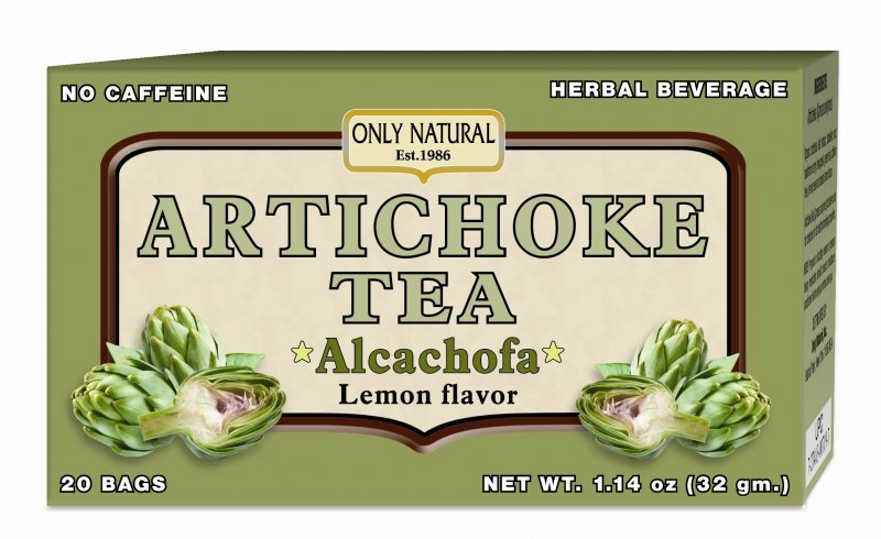 Image 0 of Tea Artichoke 1x20 Bag Each by ONLY NATURAL