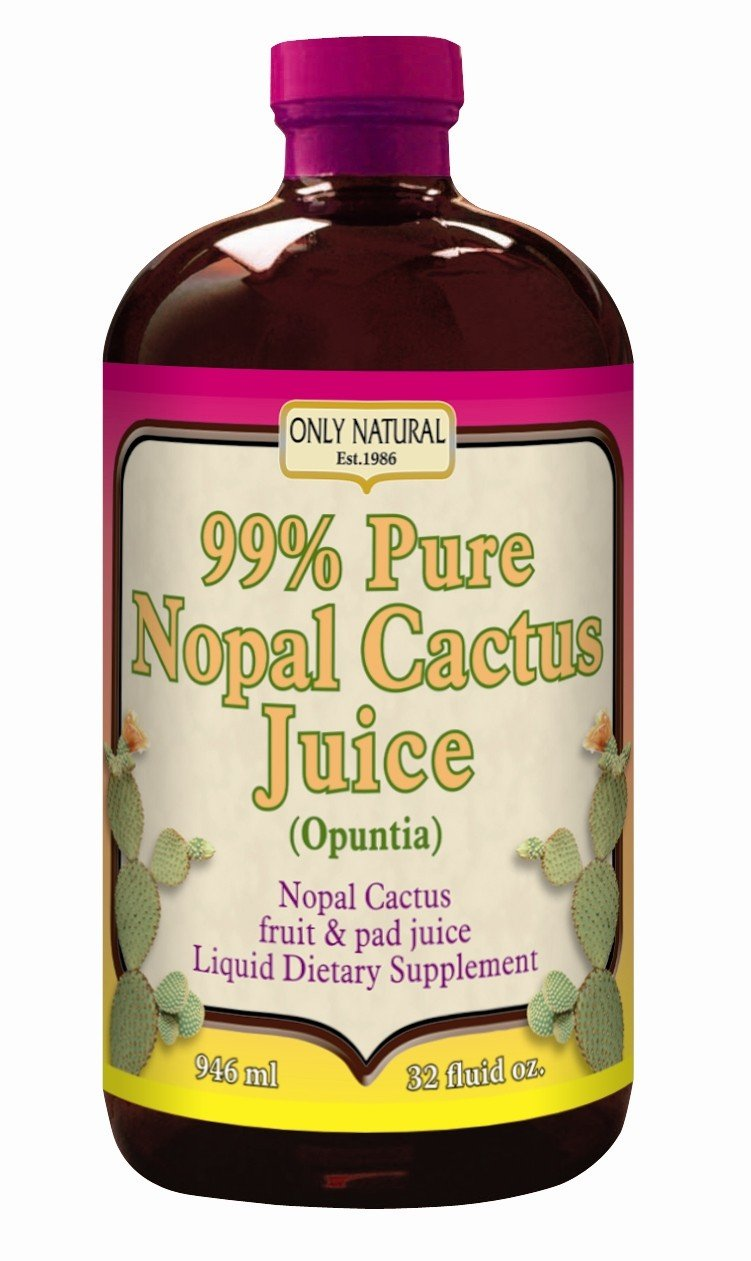 Image 0 of Juice Nopal Cactus 1x32 Fluid oz Each by ONLY NATURAL