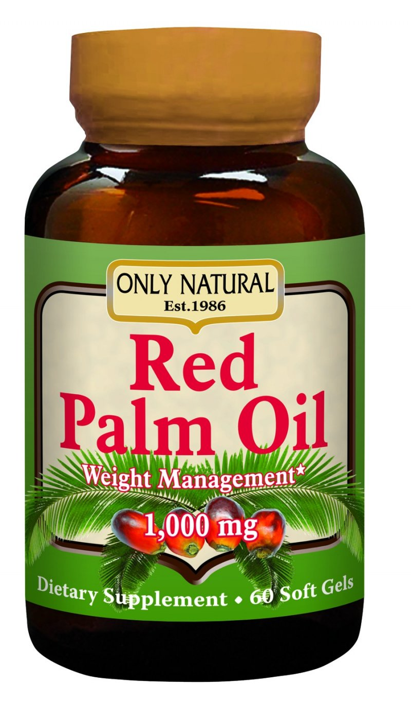 Image 0 of Red Palm Oil 1000 Mg 1x60 Soft Gel Each by ONLY NATURAL