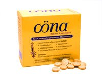 Menopause Herbal Supplemont 1x96 Tab Each by OONA