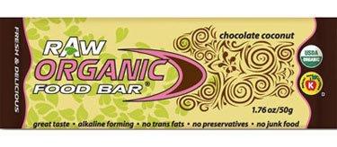 Raw Bar Organic(95%+) Choc Choc Chp 12x1.76 oz Case by ORGANIC FOOD BAR