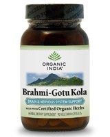 Brahmi-Gotu Kola Organic(70%+) 1x90 VCap Each by ORGANIC INDIA