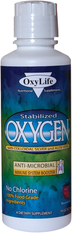 Image 0 of Oxygen/Colloid Unflvd Pln 1x16 oz Each by OXYLIFE PRODUCTS