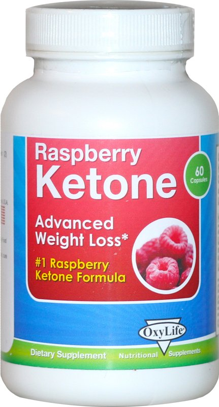 Image 0 of Raspberry Ketone 1x60 Cap Each by OXYLIFE PRODUCTS