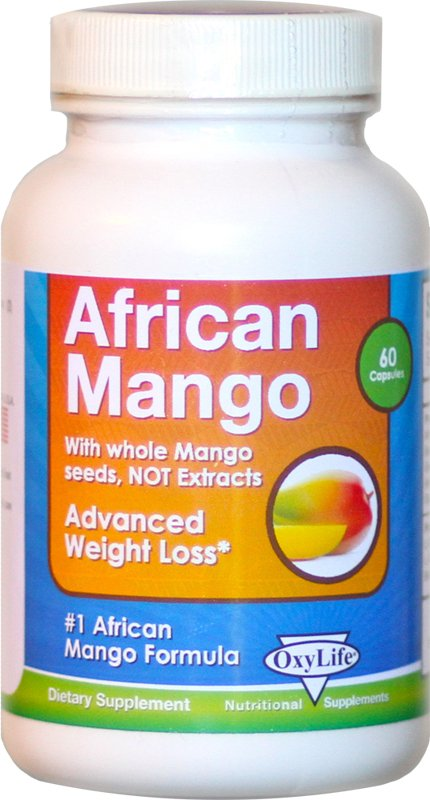 Image 0 of African Mango 1x60 Cap Each by OXYLIFE PRODUCTS