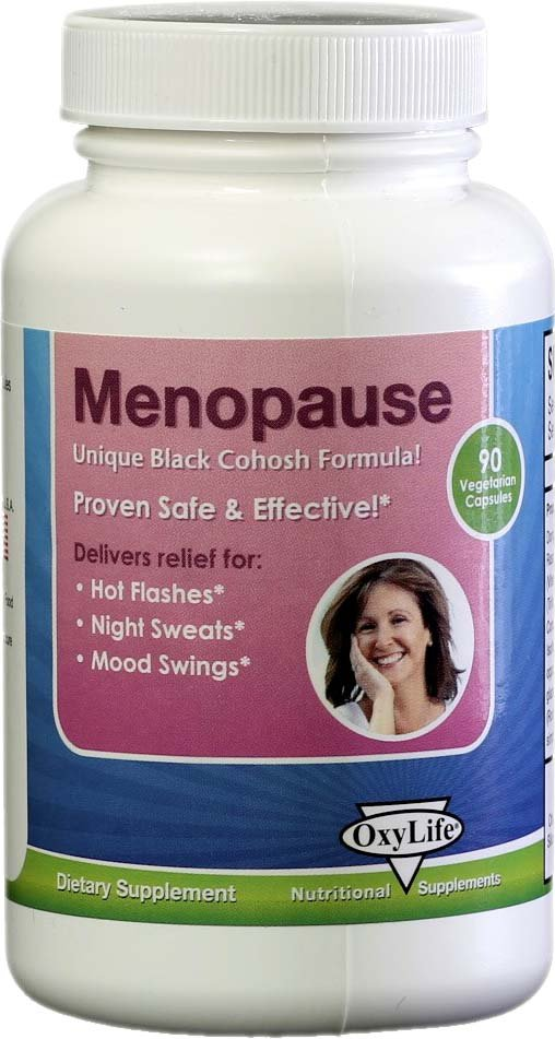 Menopause Formula 1x90 Cap Each by OXYLIFE PRODUCTS