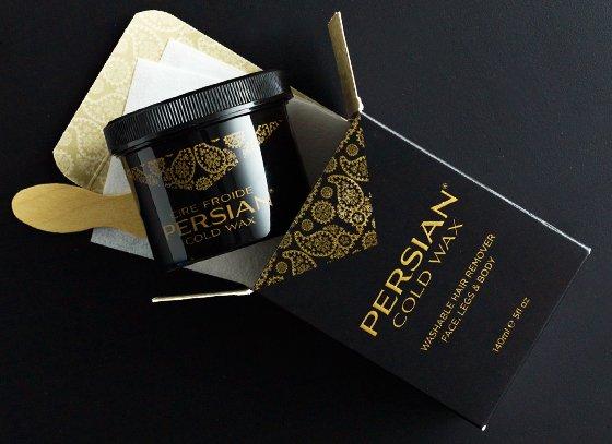 Cold Wax Kit Persian 190G 1x5 Fluid oz Each by PARISSA