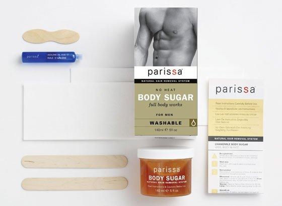 Body Sugar Men No Heat 1x7 oz Each by PARISSA