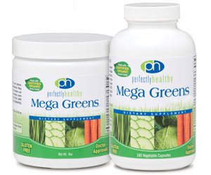Mega Green Plus Msm 1x180 Cap Each by PERFECTLY HEALTHY