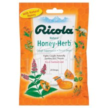 Image 0 of Cough Drop Honey Herb 12x24 Ct By Ricola