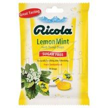Image 0 of Cough Drop Lemon Mint Sf 12x19 Ct By Ricola