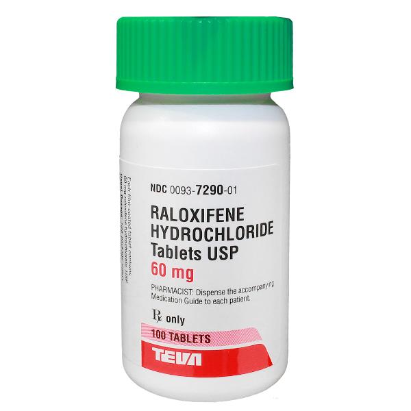 Raloxifene Generic Evista 60 Mg Tabs 100 By Teva Pharma