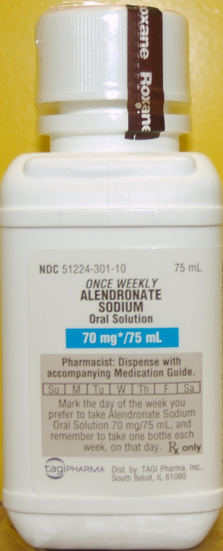 Alendronate Sodium Generic Fosamax 70 Mg 4x75 Ml Solution By Tagi Pharma