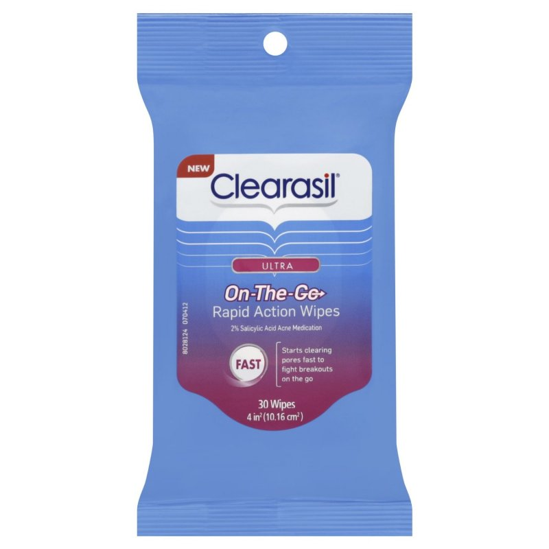 how to use clearasil rapid action pads
