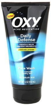 OXY Acne Medication Daily Defense Face Wash 5 Oz