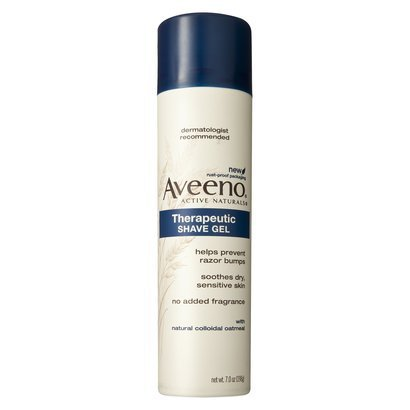 Image 0 of Aveeno Shave Gel Therapeutic Unscented 7 Oz