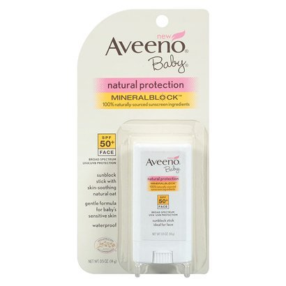 Aveeno Baby Sun Natural Protection Stick SPF50 3 Oz