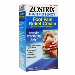 Zostrix Foot Pain Relieving Cream 2 oz