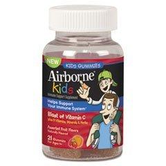 Airborne Immune Support Kids 21 Gummies.