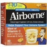 Airborne Immune Support Orange 30 Tablets