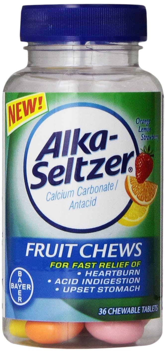 Alka Seltzer Fruit Chews 36 Count