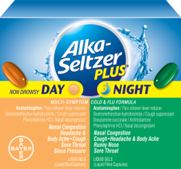 Alka Seltzer Plus Day & Night Cold & Flu Combo 20 Ct