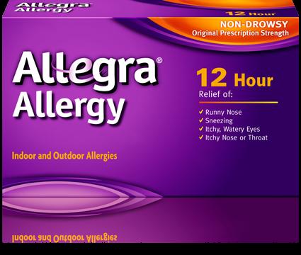 Allegra Otc 12 Hour 60 Mg 24 Tabs