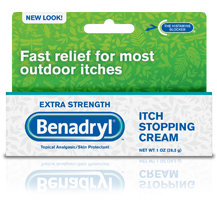 Benadryl Extra Strength Itch Stopping Gel 3.5 Oz
