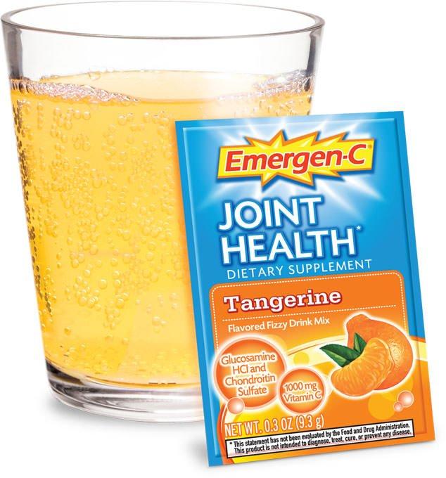 Emergen-C Joint Health Tangerine Powder 30 Ct