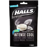 Halls Menthol Cough Drops Extra Strong Bag 30 Ct.