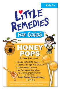 Image 0 of Little Remedies For Colds Honey Pop's 10 Ct