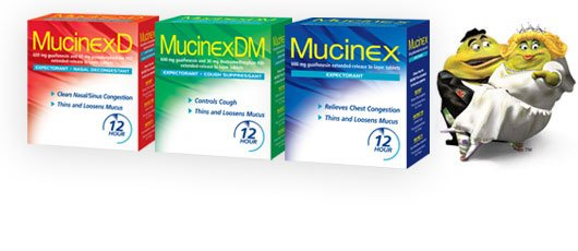 Image 2 of Mucinex 24 Hour Allergy Remover 180 MG 5 Tabs