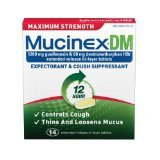Image 0 of Mucinex Dm Maximum Strength 14 Tablet