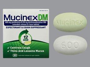 Mucinex Dm 20 Tablets