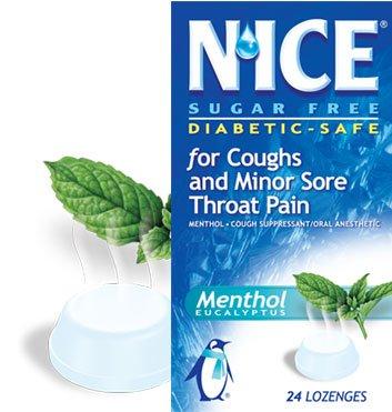 Image 0 of N'ice Lozenge Eucalyptus Menthol Sugar Free 24 Ct.