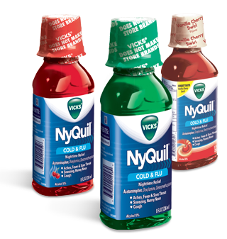 Image 0 of Nyquil Original Liquid 8 Oz