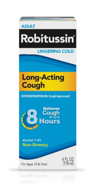 Image 0 of Robitussin Linger cold Long Acting Liquid 4 Oz