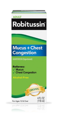 Image 0 of Robitussin Mucus Chest Congestion 4 Oz
