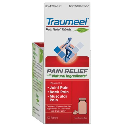 Image 0 of Traumeel Pain Relief 300 MG 100 Tablets