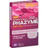 Phazyme Maximum 250 Mg 12 Soft-Gels