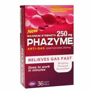 Phazyme Maximum 250 Mg 36 Soft-Gels