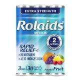 Rolaids Extra Strength Fruit Tablet 12x3x10