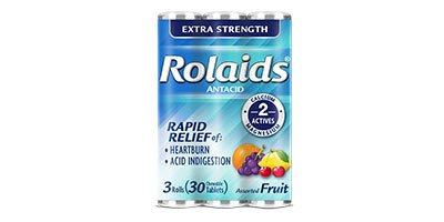 Rolaids Extra Strength 12x3x10 Mint Tablet
