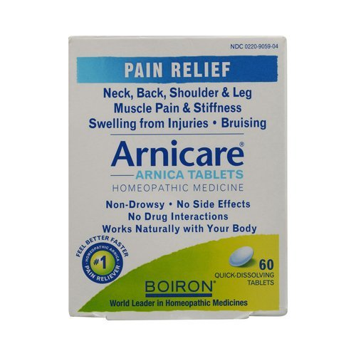 Arnicare Pain Relief 60 Tablets By Boiron Inc