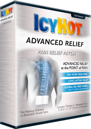 Icy hot patch for neck