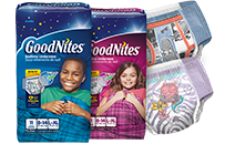 GoodNites Bedtime Underwear Boys Lg/Xl 4x11 Ct.
