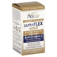 Ageless Foundation Ultraderm Gold Coll Boost 60 Capsules