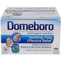 Domeboro Astringent Solution Packet Powder 100